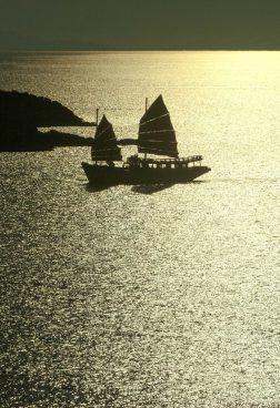 Six Senses Samui - Fahrt in den Sonnenunterganguntergang