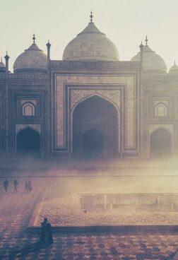Indien – Ausflug zum Taj Mahal