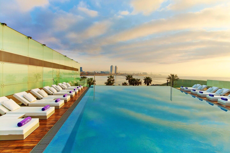 W Hotel Barcelona, Spain - Sun Deck